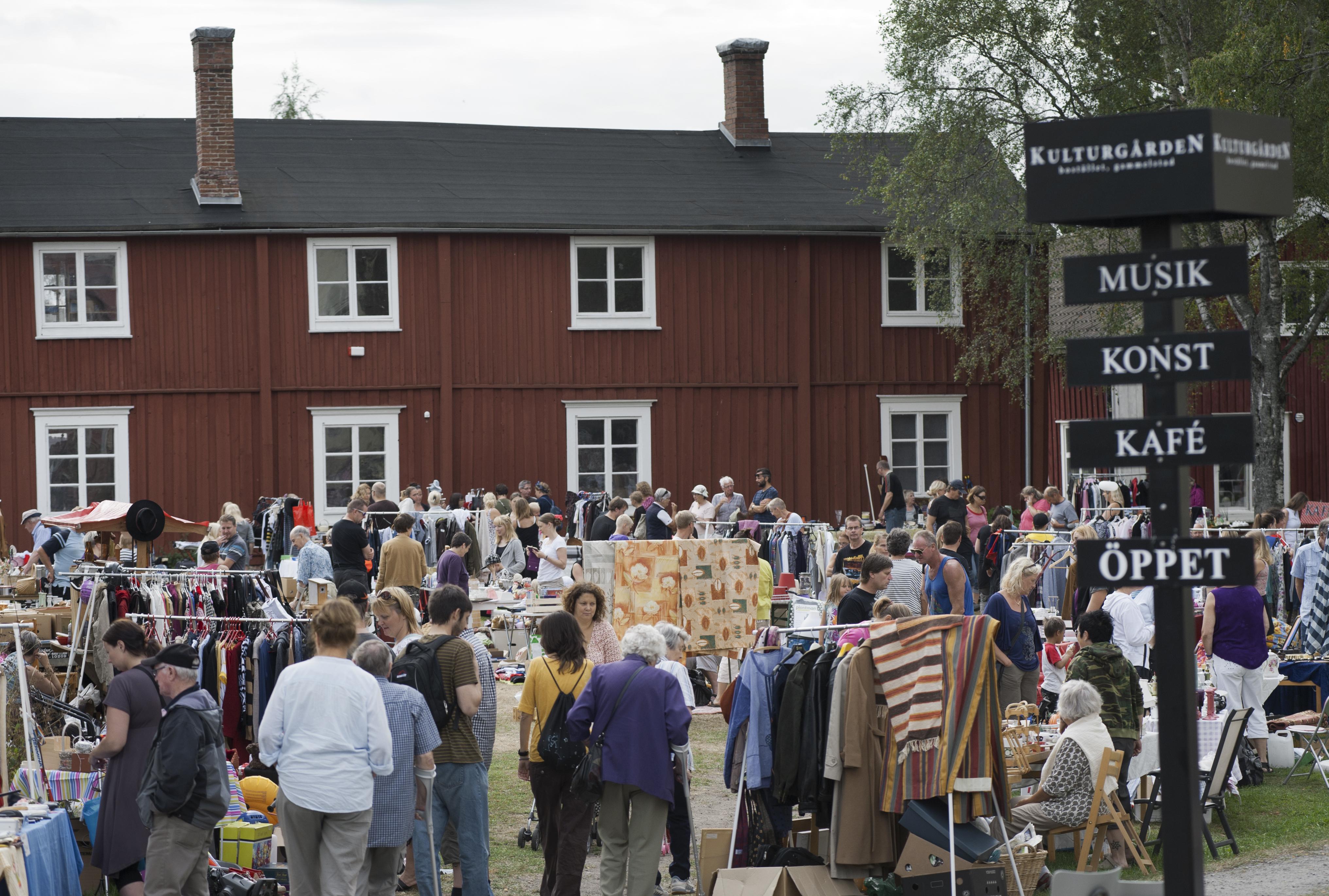 Loppis på Kulturgården